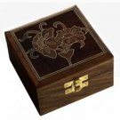 Handmade Wooden Jewelry Box from India Presents for Mom