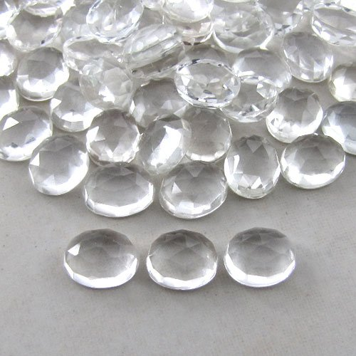 Certified Natural White Topaz AAA Quality 9x7 mm Faceted Oval Shape 10 pcs Lot Loose Gemstone