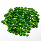 Certified  Natural Chrome Diopcide AAA Quality 1.25 mm Faceted Round Shape 25 pc Lot Loose Gemstone