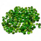 Certified Natural Chrome Diopcide AAA Quality 1.5 mm Faceted Round Shape 100 pc Lot Loose Gemstone