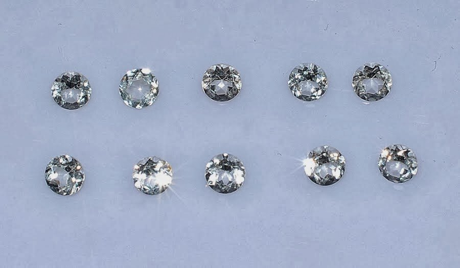 Certified  Natural Zircon AAA Quality 1.5 mm Faceted Round Shape 50 pc Lot Loose Gemstone