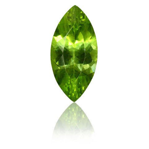 Certified Natural Peridot AAA Quality 6x3 mm Faceted Marquise Shape 5 pcs Lot Loose Gemstone