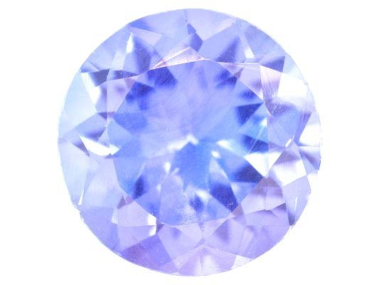 Certified Natural Tanzanite A Quality 7 mm Faceted Round Pair loose gemstone