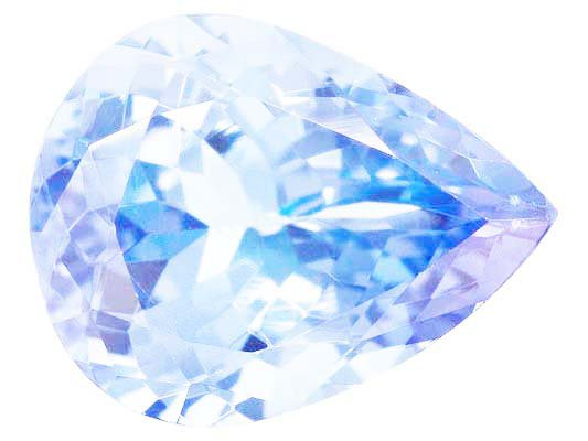 Certified Natural Tanzanite A Quality 6x4 mm Faceted Pear  10 pcs Lot loose gemstone