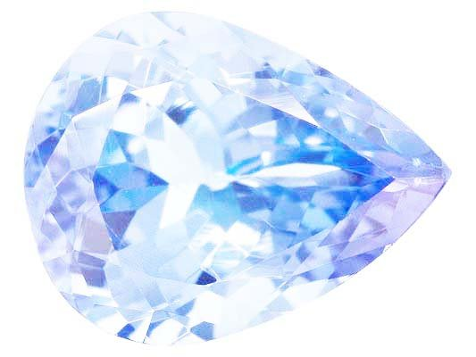 Certified Natural Tanzanite A Quality 7x5 mm Faceted Pear  10 pcs Lot loose gemstone