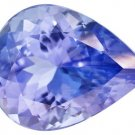 Certified Natural Tanzanite AA Quality 4x3 mm Faceted Pear 10 pcs lot loose gemstone