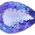Certified Natural Tanzanite AA Quality 6x4 mm Faceted Pear 5 pcs lot loose gemstone