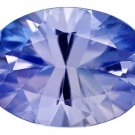 Certified Natural Tanzanite AA Quality 4x3 mm Faceted Oval 50 pcs lot loose gemstone