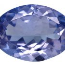 Certified Natural Tanzanite AA Quality 5x3 mm Faceted Oval 10 pcs lot loose gemstone