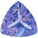 Certified Natural Tanzanite AA Quality 3.5 mm Faceted Trillion 25 pcs lot loose gemstone
