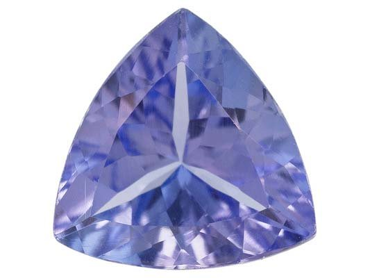 Certified Natural Tanzanite AA Quality 5 mm Faceted Trillion 1 pc loose gemstone