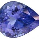 Certified Natural Tanzanite AAA Quality 4x3 mm Faceted Pear 10 pcs lot loose gemstone