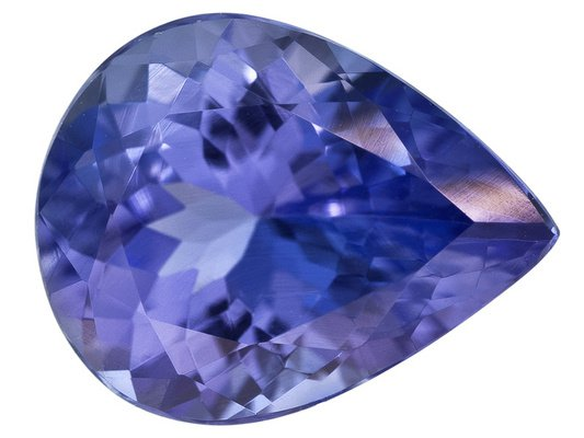 Certified Natural Tanzanite AAA Quality 5x4 mm Faceted Pear 5 pcs lot loose gemstone