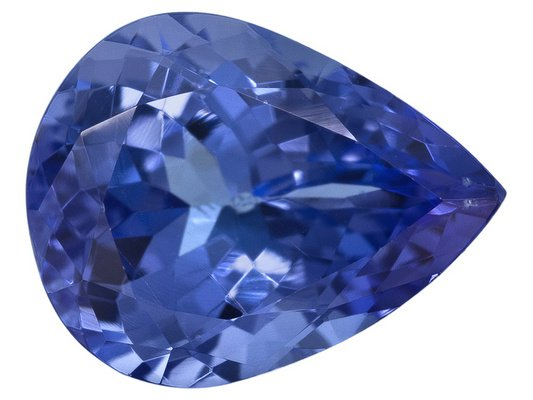 Certified Natural Tanzanite AAA Quality 5x4 mm Faceted Pear 50 pcs lot loose gemstone