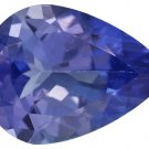 Certified Natural Tanzanite AAA Quality 7x5 mm Faceted Pear 1 pc loose gemstone