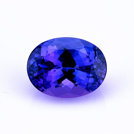 Certified Natural Tanzanite AAA Quality 7x5 mm Faceted Oval 1 pc loose gemstone