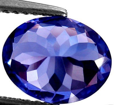 Certified Natural Tanzanite AAA Quality 8x6 mm Faceted Oval 1 pc loose gemstone