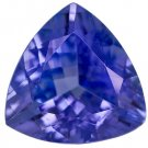 Certified Natural Tanzanite AAA Quality 3.5 mm Faceted Trillion 10 pcs lot loose gemstone