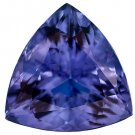 Certified Natural Tanzanite AAA Quality 3.5 mm Faceted Trillion 100 pcs lot loose gemstone