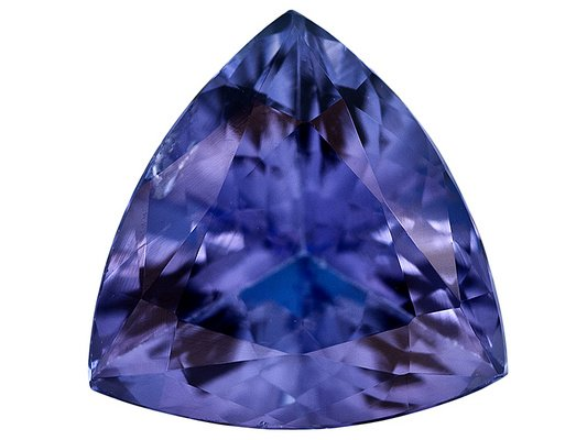 Certified Natural Tanzanite AAA Quality 4 mm Faceted Trillion 5 pcs lot loose gemstone