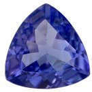 Certified Natural Tanzanite AAA Quality 4 mm Faceted Trillion 50 pcs lot loose gemstone