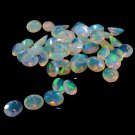 Certified Natural Ethiopian Opal AAA Quality 8x10 mm Faceted Oval Pair loose gemstone