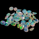 Certified Natural Ethiopian Opal AAA Quality 3x4 mm Faceted Oval Pair loose gemstone