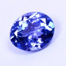 Beautiful Look Natural Violet Blue Tanzanite Oval Cut 1.44 Ct Certified HG 8999
