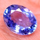 For Ring Use Oval Shape 1.54 Ct Natural Violet Blue Tanzanite Certified HG 8994