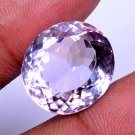 WOW ! Beautiful Look Natural Amethyst Oval Shape 20.97 Ct With Certified HG 9086
