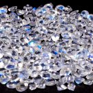 Natural Rainbow Moonstone 4.25 mm Faceted Round 50 pcs Lot Loose Gemstone