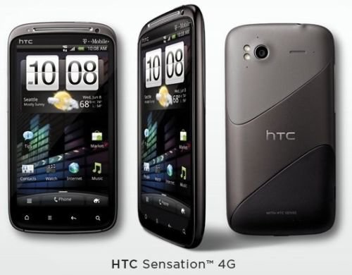 HTC Sensation 4G - Black - T-Mobile Only