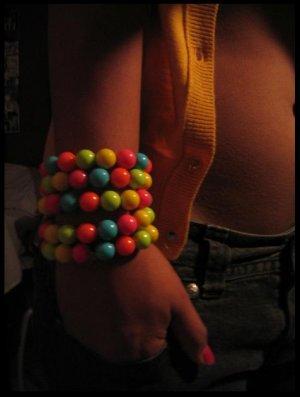 rainbow.bubble.bracelet