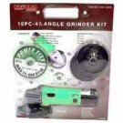 10 Pcs Angle Grinder Blister Pack - MSRP $79.99