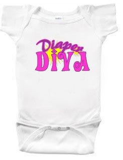 Diaper Diva Baby Onesie