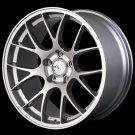 "NEW MIRO WHEELS Style 112-18"" Silver 6061 T6 Aluminum Alloy Rims Set of 4"