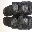 Pali Hawaii Sandals PH405 SIZE 6 BLACK 1 Pair