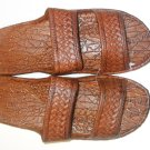 Pali Hawaii Sandals PH405 SIZE 12 BROWN 1 Pair