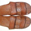 Pali Hawaii Sandals PH405 SIZE 12 BROWN 1 Pair