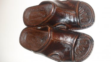 Pali Hawaii Sandal PH186 - SIZE 8 MENS-brown-1 pair
