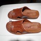 Pali Hawaii Sandal PH186 - SIZE 13 MENS-light brown-1 pr
