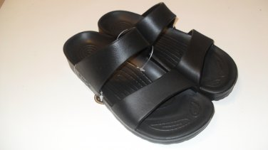 Pali Hawaii Sandals PH119 size 8 BLACK (one pair)