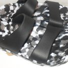 Pali Hawaii Sandals PH119 size 10 speckled black/white -1 PAIR