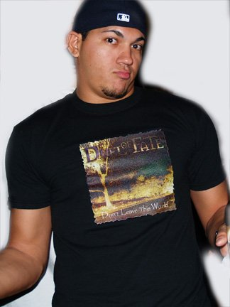 DOF Don't Leave This World Men T-Shirt (Large)