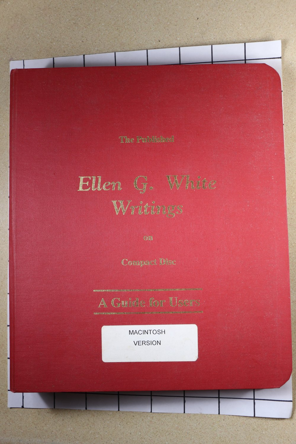 The Published Ellen G. White Writings on Compact Disc, MacIntosh Version