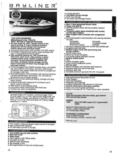 CARBURETOR ASSEMBLY #986478/0986478 OMC COBRA 1987-1990 2.3L/140 INBOARD  (902