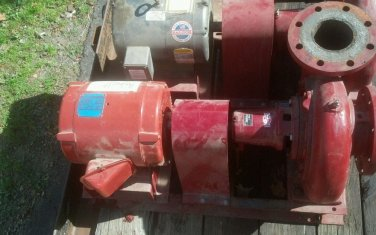 Gould bell & gossett 7.5hp 400gpm pump circulator