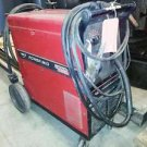 Lincoln Powermig 215 mig welder  220v single phase VERY NICE