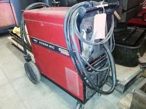 Lincoln Powermig 215 mig welder  220v single phase VERY NICE