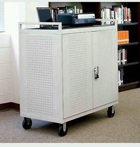 Lap30 bretford mobile lab laptop cart